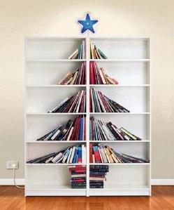 cool-bookshelf-books-Christmas-tree